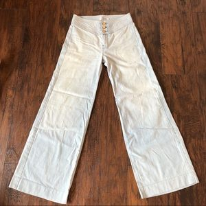7 For All Mankind Vintage Wide Leg Jeans